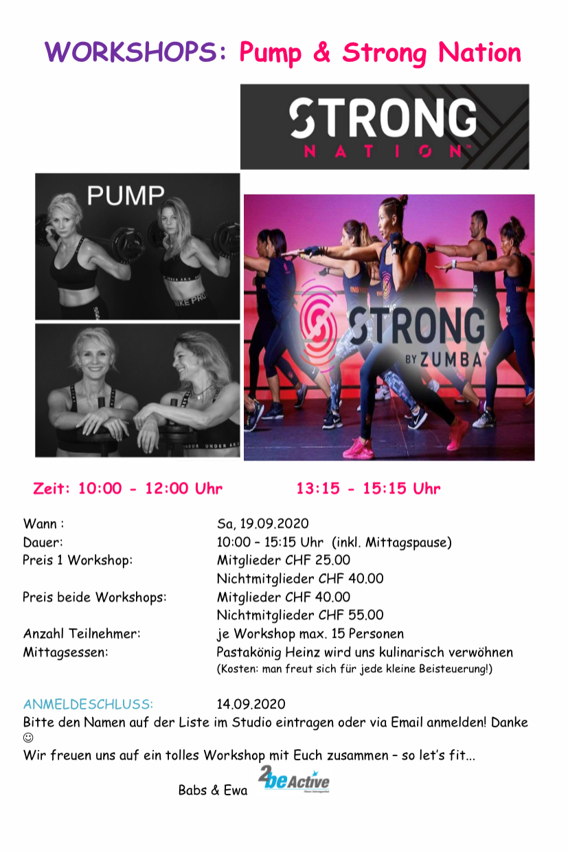 Flyer Pump Strong 19.9.20 no2